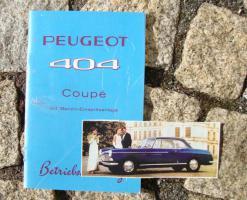 Foto 3 Betriebsanleitung Peugeot 403 Limousine (1961) Oldtimer