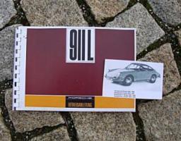 Betriebsanleitung Porsche 911 2.0 L / 1968