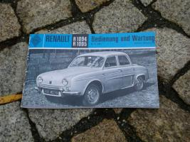 Foto 3 Betriebsanleitung Renault Caravelle Cabriolet 1962 (R1131)
