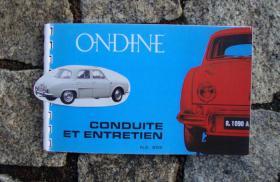 Foto 4 Betriebsanleitung Renault Caravelle Cabriolet 1962 (R1131)