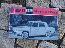 Betriebsanleitung Renault R 8 / 1963