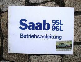 Betriebsanleitung Saab 96 L / 95 L 1976