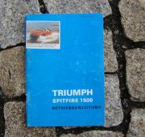 Foto 5 Betriebsanleitung Triumph Spitfire Mk IV / 1975