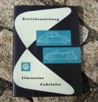 Betriebsanleitung VW 1200 Käfer 1958