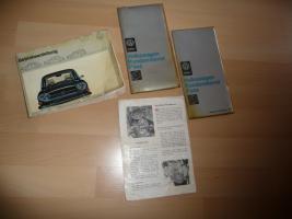 Betriebsanleitung VW 411 E