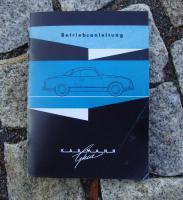 Betriebsanleitung VW Karmann Ghia (1962)