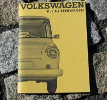 Betriebsanleitung VW Kleinlieferwagen Typ 147 ''Fridolin''