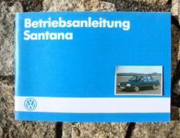 Betriebsanleitung VW Santana / 1984 Oldtimer