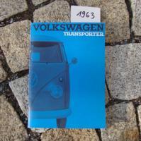 Betriebsanleitung VW TRANSPORTER BUS T1 / 1963