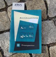 Foto 2 Betriebsanleitung VW TRANSPORTER BUS T1 / 1963