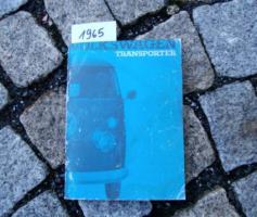 Foto 3 Betriebsanleitung VW TRANSPORTER BUS T1 / 1963