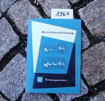 Foto 4 Betriebsanleitung VW TRANSPORTER BUS T1 / 1963