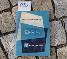 Foto 5 Betriebsanleitung VW TRANSPORTER BUS T1 / 1963