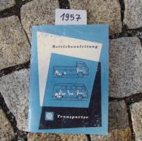 Foto 6 Betriebsanleitung VW TRANSPORTER BUS T1 / 1963