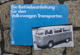 Betriebsanleitung VW Transporter / 1979 Bus T2