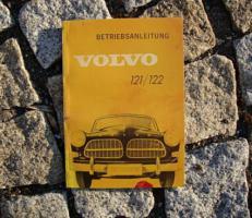 Betriebsanleitung Volvo 121 / 122 Amazon / 1962