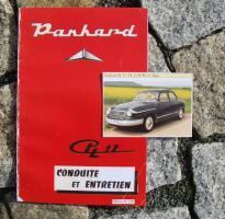 Betriebsanleitung / Conduite et entretien Panhard PL 17 (1961)
