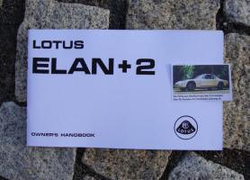 Betriebsanleitung / handbook Lotus Elan +2 (1972)
