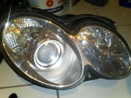 Bi-Xenon Scheinwerfer W209 mit Kurvenlicht