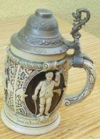 Bierkrüge mehrere sehr alt Antiquitäten