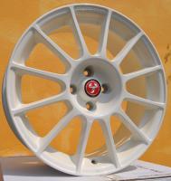 Foto 2 Biete 4x neue Fiat 500 Abarth Essesse 17 Zoll Felgen Weiss