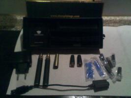 !!!!Biete hier ein Elektro Zigaretten Set XXL mit Zubehör!!!!