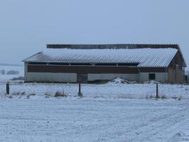 Biete neuen Offenstall 25 auf 25 m mit 6,5 ha Weide und Lagerplatz