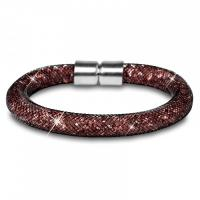 Biete neues Luxury Stardust Nylon Armband Braun