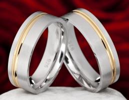 Biete neues Paar Partner Ehe Trau Ringe Premium 134 Silber