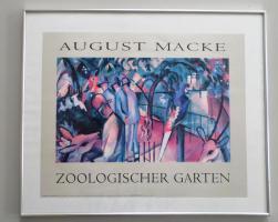 Bild August Macke 60 x 50 cm Zoologischer Garten