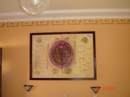 Bild mit Oelfarben ca.150 cm x 110cm