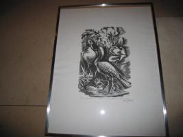 Foto 2 Bilder, Lithografie, Originale