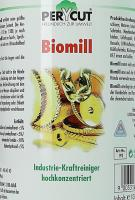 Biomill 192 reinigt Maschinen