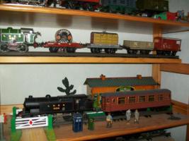 Foto 2 Blecheisenbahn Hornby/England Spur 0 Sammlung