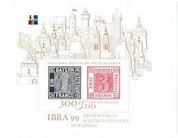 Blockausgabe Internationale Briefmarkenausstellung '' Ibra 99 '' !