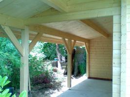 Foto 6 Blockbohlengaragen, Holzgaragen, Blockhäuser, Gartenhäuser, Garagen, und sonstigen Zweckbauten nach Kundenmaß