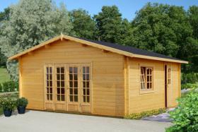 Foto 6 Blockbohlengaragen, Holzgaragen, Garagen, Blockhäuser, in vielen Grössen und Varianten von Standard bis individuell gefertigt, ..