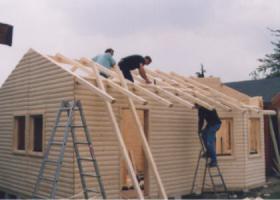 Foto 7 Blockbohlengaragen, Holzgaragen, Garagen, Blockhäuser, in vielen Grössen und Varianten von Standard bis individuell gefertigt, ..
