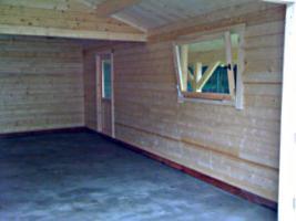 Foto 11 Blockbohlengaragen, Holzgaragen, Garagen, nach Kundenmaß,