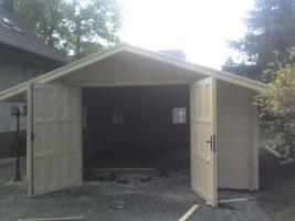 Foto 2 Blockbohlengaragen, Holzgaragen, Garagen, in vielen Grössen, ..auch nach Kundenmaß, ..