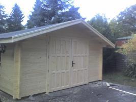 Foto 3 Blockbohlengaragen, Holzgaragen, Garagen, in vielen Grössen, ..auch nach Kundenmaß, ..