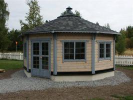 Blockhäuser, Gartenhäuser, Pavillon, Garage uvm, ..