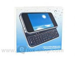 Bluetooth Tastatur (Schwarz) Apple iPhone 4