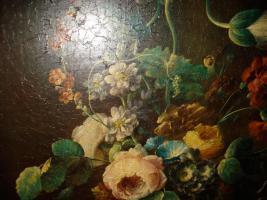 Foto 2 Blumenstrauß Große Gemälde Ölgemälde Flower lounge design