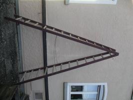 Bockleiter Stehleiter Holz 2x12 Sprossen