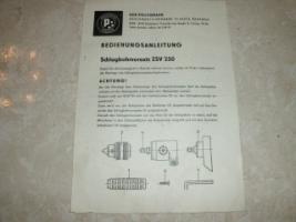 Foto 4 Bohrmaschine HB 10-1 (DDR)
