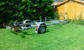 Bootstrailer 1350kg/ bootsanhänger/ Hafentrailer/PKW Anhänger