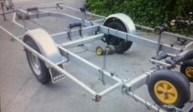 Foto 3 Bootstrailer 1350kg/ bootsanhänger/ Hafentrailer/PKW Anhänger