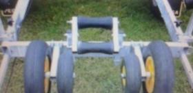Foto 5 Bootstrailer 1350kg/ bootsanhänger/ Hafentrailer/PKW Anhänger