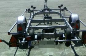 Foto 6 Bootstrailer 1350kg/ bootsanhänger/ Hafentrailer/PKW Anhänger